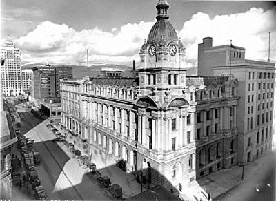 Circa 1948 in Vancouver