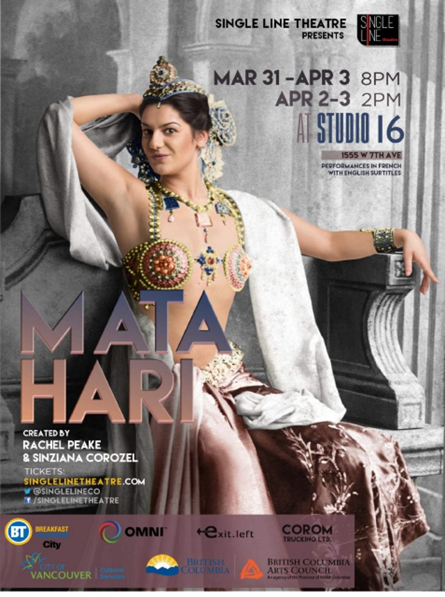 Exclusive – Mata Hari – The Beauty, The Execution, The Play Part I