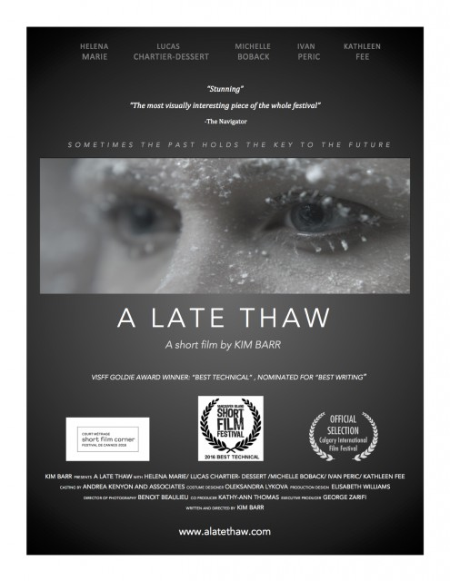 A Late Thaw: Kim Barr's Short Film Going to Cannes