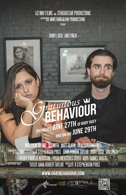 Canadian Comedy Series Gratuitous Behaviour premiering this week