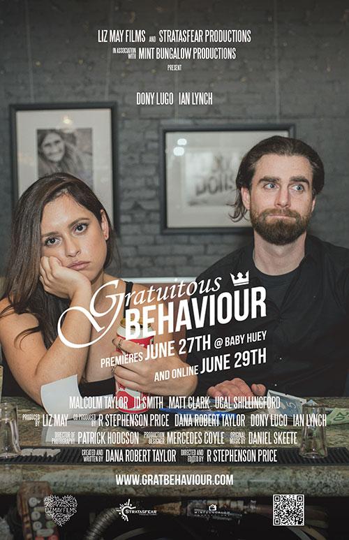 Canadian Comedy Series Gratuitous Behaviour premiering this week