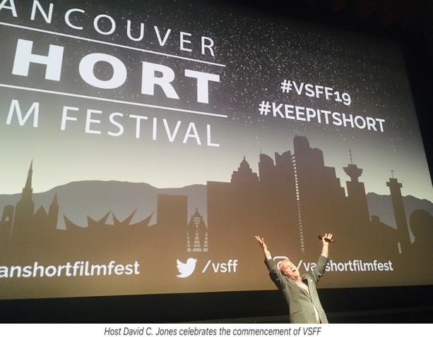 BC Filmmakers Take Centre Stage  at VANCOUVER SHORT FILM FESTIVAL