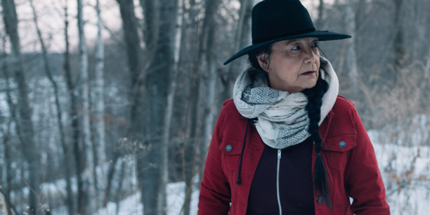 Tantoo Cardinal takes Centre Stage in FALLS AROUND HER