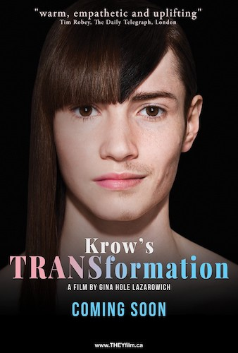 Talent On Tap – Bare Witness – Krow's TRANSformation By Gina Hole Lazarowich