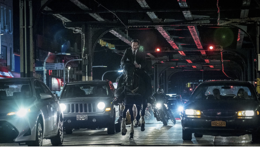 Keanu Reeves Thrills Once Again as JOHN WICK in PARABELLUM