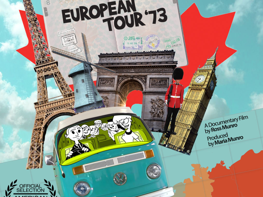 Talent On Tap – Ross Munro Smuggles Us Aboard His European Tour '73