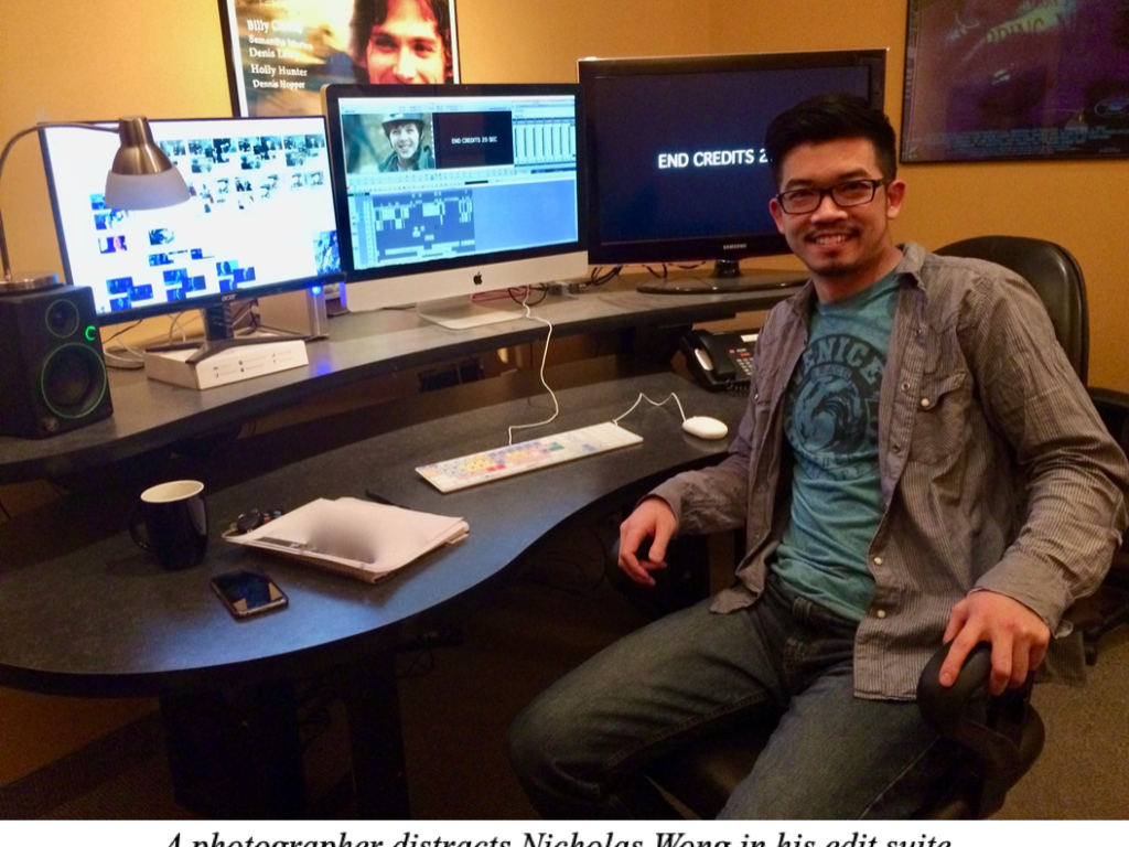 TALENT ON TAP: Cutting Picture East Coast-Style with NICHOLAS WONG