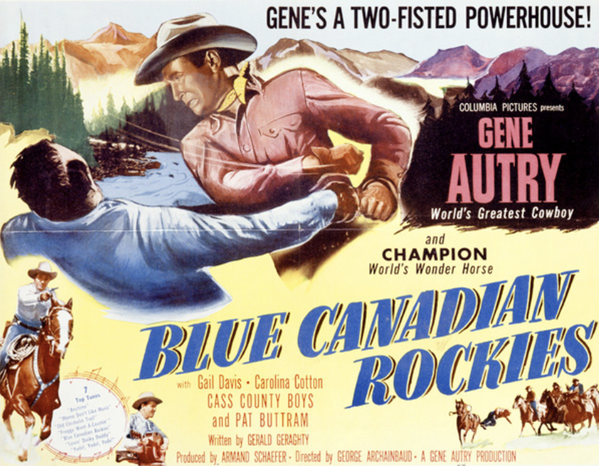 HOLLYWOOD'S CANADA: Blue Canadian Rockies