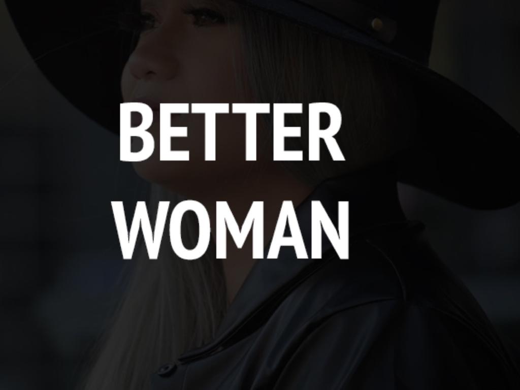 Talent on Tap – Thea Cruz Presents – Better Woman