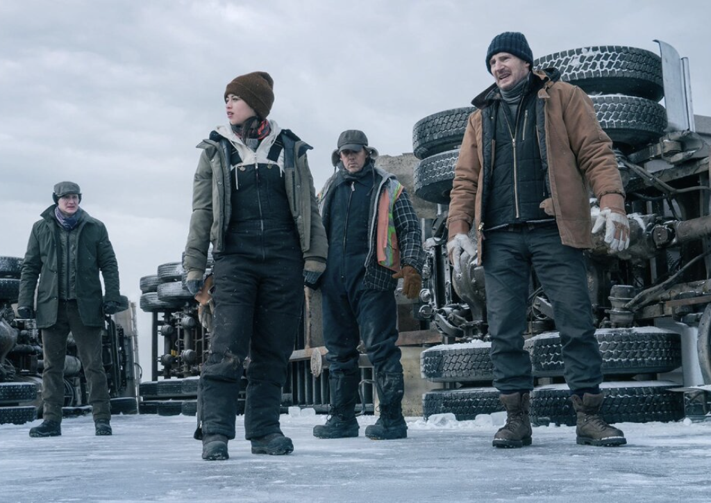 Neeson Gets Limited Traction on THE ICE ROAD
